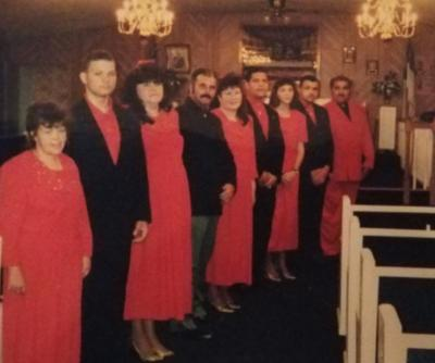 The Singing Revelations, John Edmonds at Seedtime 1995
