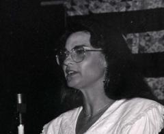 Sheila Adams Barnhill at Seedtime, 1992