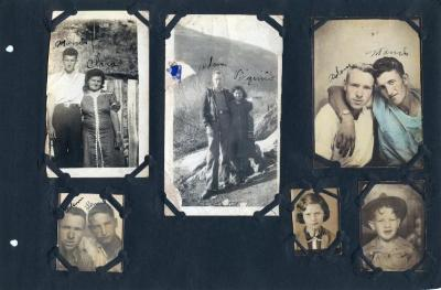 Ousley family photo album, Floyd County