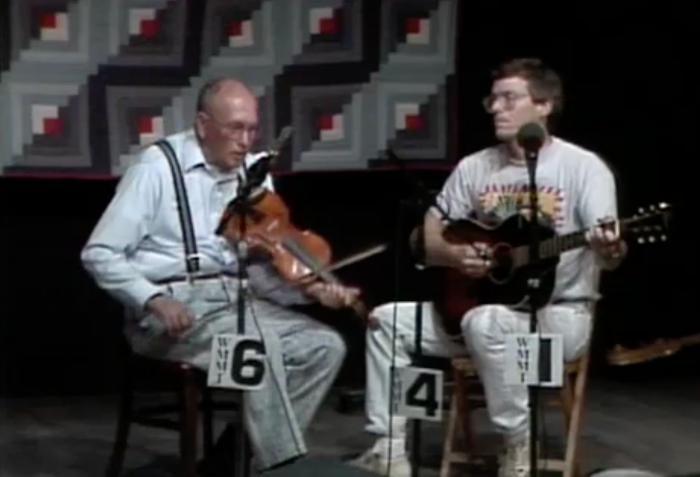 Clyde Davenport at Seedtime, 1993