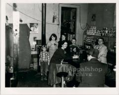 Group of people in a small store