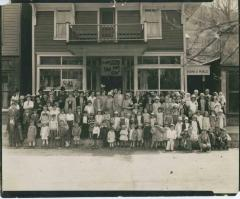 Sunday School group in Neon, KY, 1928