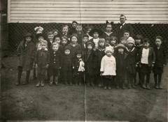 Willie Quillen and his Sunday School clan