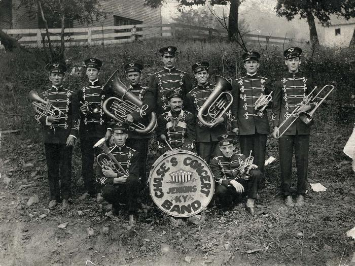 Chase's Concert Band group photo
