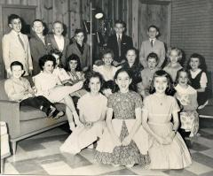 Children posing for a group photo