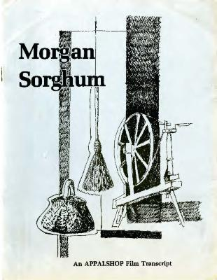 Transcript of the film Morgan Sorghum