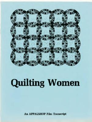 Transcript of the film Quilting Women