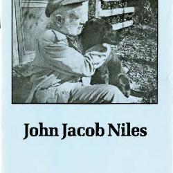 Transcript of the film John Jacob Niles