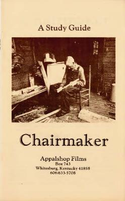Study Guide for the film Chairmaker