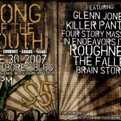 """Youth Bored Flyer: """"Song of the South"""""""
