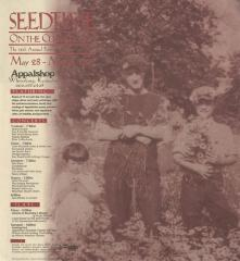 Seedtime on the Cumberland Festival poster, 1998