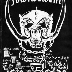 "Youth Bored flyer: headlining band ""Föwlwawahl"""