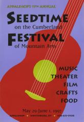 Seedtime on the Cumberland Festival poster, 1997