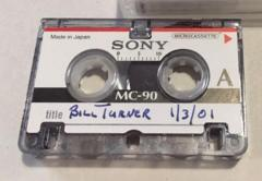 Image of microcassette in John Verburg Collection