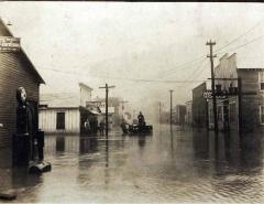 Neon, flooded Main Street. 1925