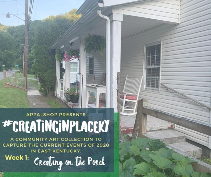 """Creating in Place image: """"Creating on the Porch"""""""