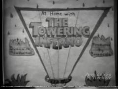 At Home With The Towering Inferno / High School football marching band