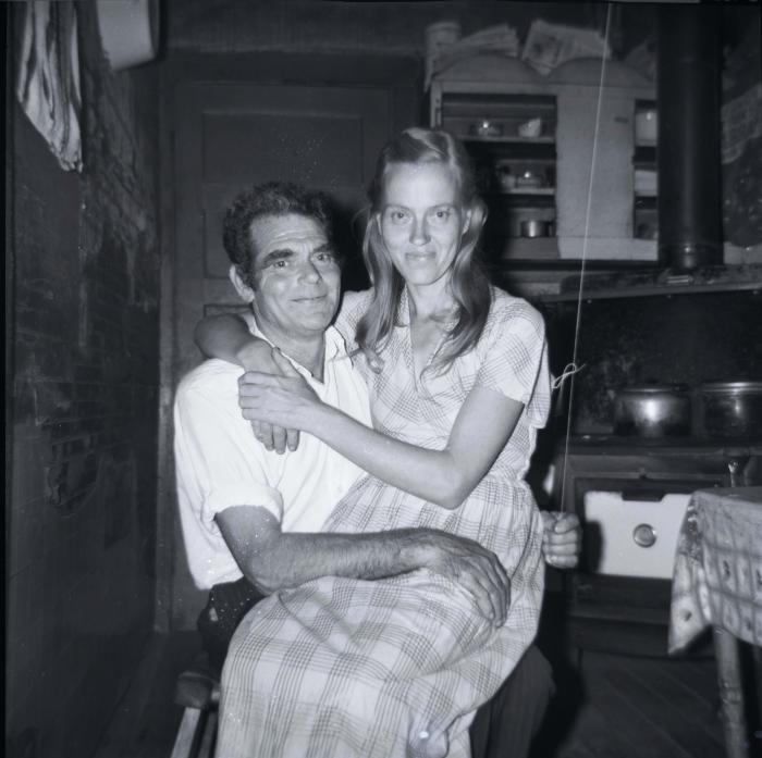 Self-portrait of Chester Cornett and wife Ruth