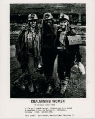 Coalmining Women production still