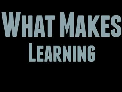 What Makes Learning (AMI)