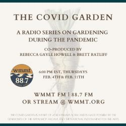 The Covid Garden radio series: Natalie Gibson Holt