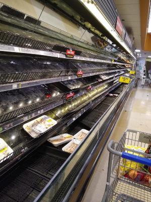 Panic Buying, Meat Dept.