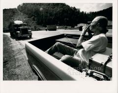 Coal Bucket Outlaw production still