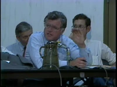 Ted Kennedy hearing at Mud Creek Clinic - interviews with community members