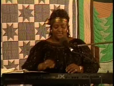 Ethel Caffie-Austin, Morgan & Lee Sexton at Seedtime 1989