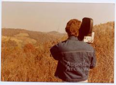 Exterior of Appalshop filmmaker Scott Faulkner