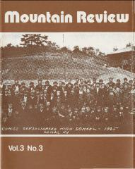 Mountain Review, Volume 03, Number 03, September 1977