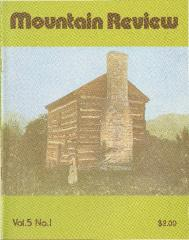 Mountain Review, Volume 05, Number 01, July 1979