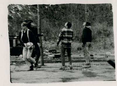 Young men playing basketball - Appalachian Genesis